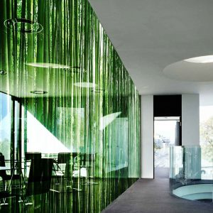 Printed decorative glass panel