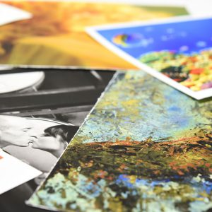 Photo paper ink-jet prints