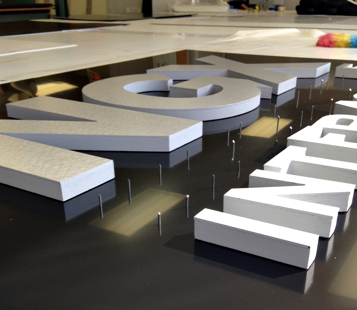 cnc cut signs and letters colorific digital printing solutions